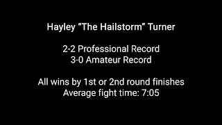 Hayley The Hailstorm Turner and Macy Chiasson Striking Comparison