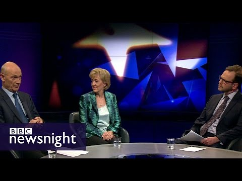 How will UK trade with EU post-Brexit? Pascal Lamy, Andrea Leadsom discuss - BBC Newsnight