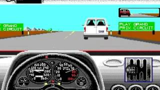 Test Drive 2 - The Duel (PC) - Gameplay