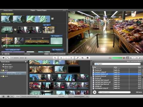 Basic Video Editing in iMovie (End)
