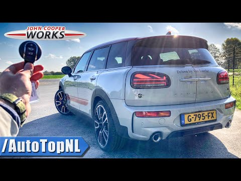2020 MINI CLUBMAN JCW 306HP | REVIEW POV On ROAD & AUTOBAHN (NO Speed Limit!) By AutoTopNL