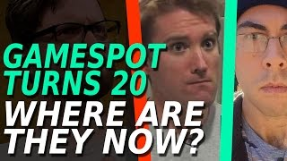 GameSpot Turns 20 - Where Are They Now?
