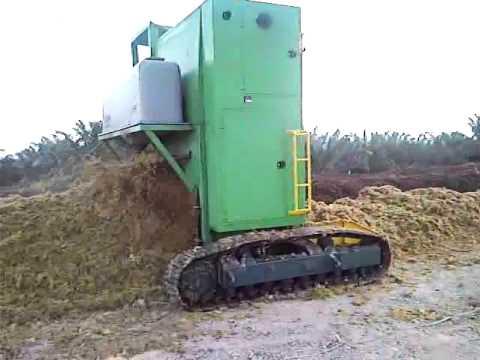Turner Machine for composting