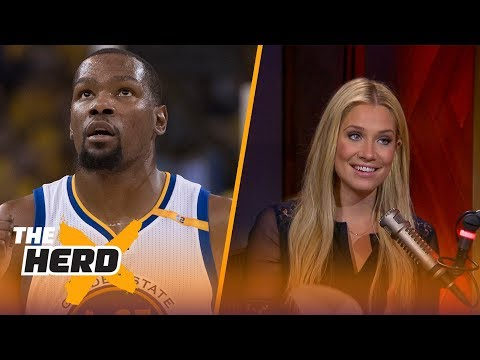2017-18 NBA schedule revealed - Kristine Leahy and Colin Cowherd react | THE HERD