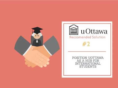 The University of Ottawa: A Strategy to Internationalization