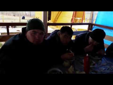 Кыргызы в Якутске шашлык!