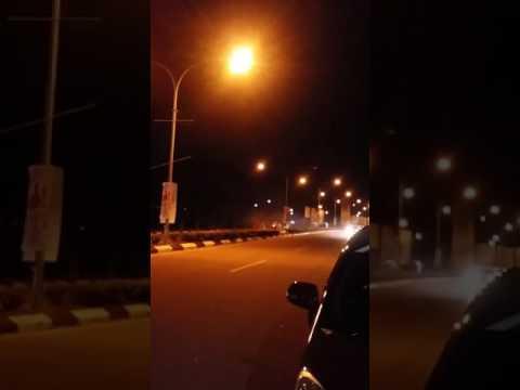 Superbike beraksi malam raya di Airport Pengkalan Chepa