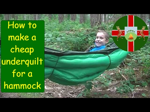 how to make   mod a budget diy hammock underquilt   underblanket for   10 how to make   mod a budget diy hammock underquilt   underblanket      rh   youtube