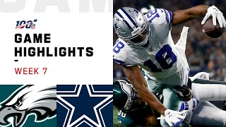 Eagles vs. Cowboys Week 7 Highlights | ...
