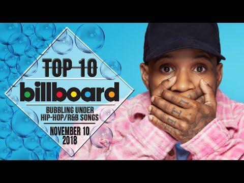 Top 10 • US Bubbling Under HipHopR&B Songs • November 10, 2018  BillboardCharts