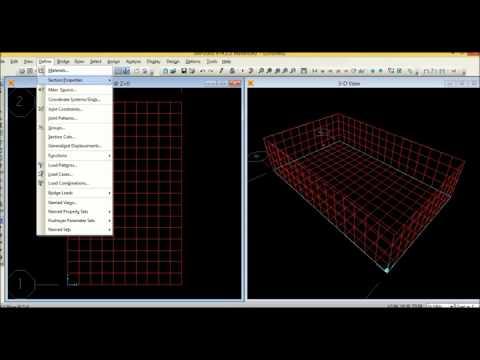 analisis y modelado de una piscina en el programa sap2000
