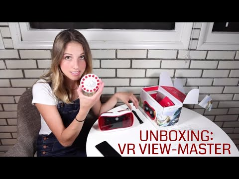 Unboxing: Mattel Virtual Reality (VR) View-Master