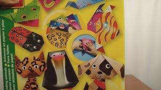 Делаем из бумаги фигурки животных Рыбка Леопард Собачка Пингвин origami