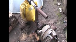 видео Бензогенератор на 12 вольт