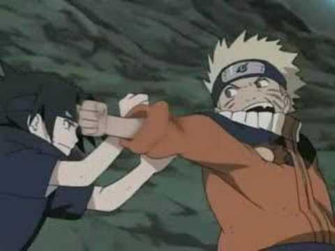 Naruto vs Sasuke-I Stand Alone