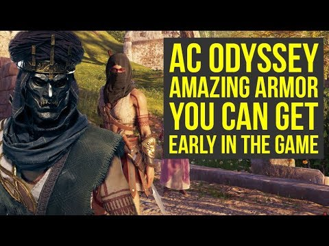 Assassin's Creed Odyssey Armor & Hoods You Can Get EARLY IN THE GAME (AC Odyssey Armor)