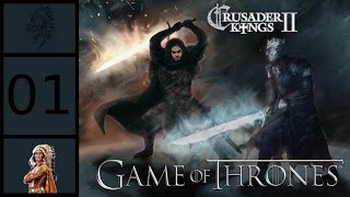 Crusader Kings 2: Game of Thrones Mod - Jon Snow - War for the Dawn #1