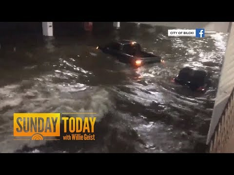 Hurricane Nate Makes Landfall As Category 1 Hurricane; Downgraded To Tropical Storm | Sunday TODAY