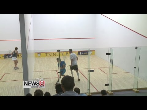 Trinity College hosting squash championships