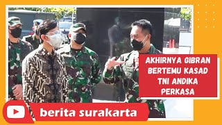 Gibran Dampingi KASAD Andika Perkasa Tinjau RS. Tentara Slamet Riyadi, Solo
