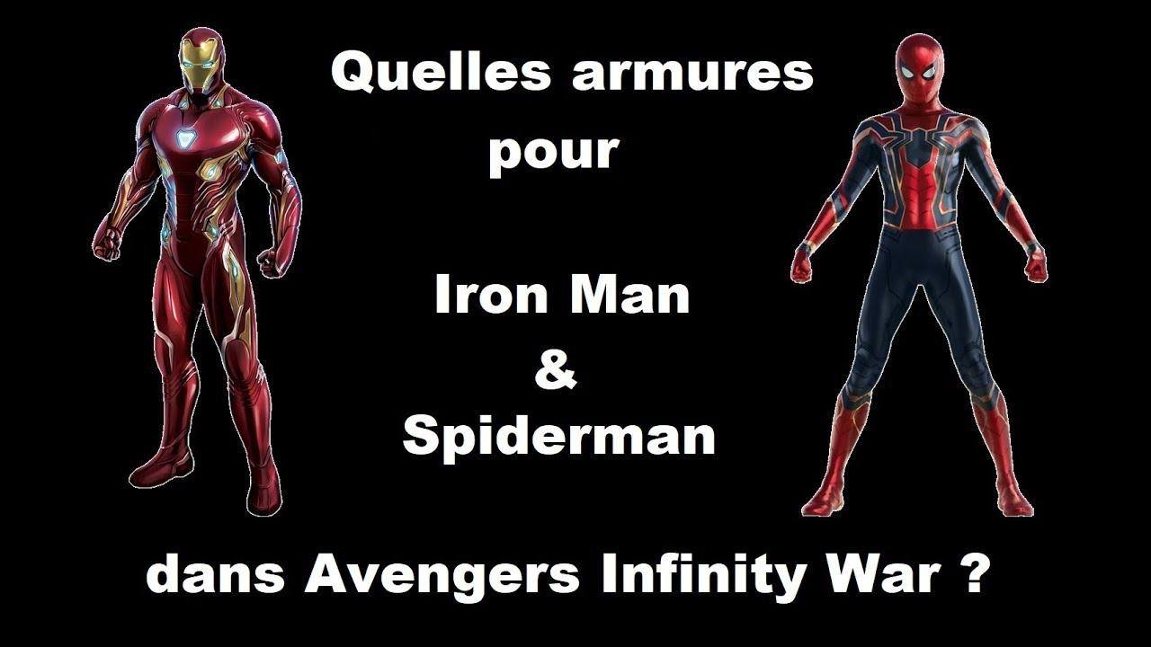 Infinity War - Les nouvelles capacités d\'Iron Man et de l\'Iron ...