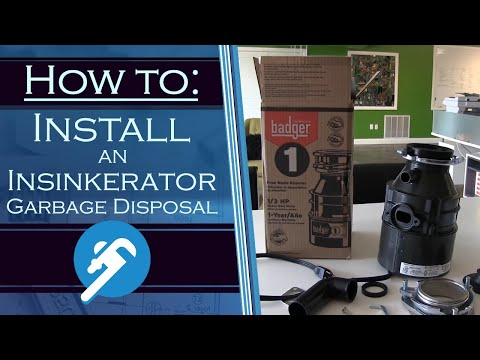 How to Install an Insinkerator Garbage Disposal - PlumbersStock.com