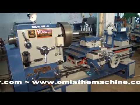 OM BRAND HEAVY DUTY LATHE MACHINE 8 FEET (OM International Machine Tools)