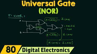 NOR Gate as Universal Gate