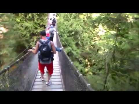 Suspension Bridge & Cliff Jumps! Lynn Canyon, North Vancouver