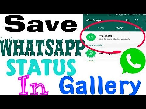 How To Download Whatsapp Status On Samsung Or Any Android Phone Without Any Additional App No Root