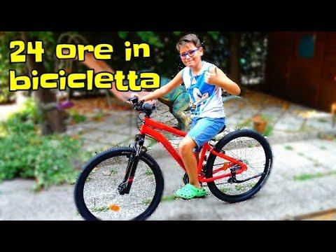 24 ORE IN BICICLETTA! - Leonardo D