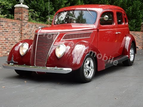 1937 Ford Sedan Slantback Street Rod for sale Old Town Automobile in Maryland