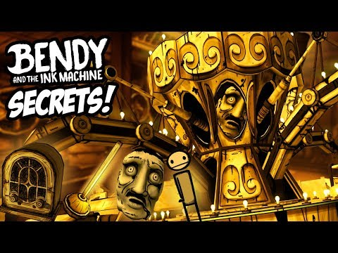 A NEW WAY TO DEFEAT BORIS! A HIDDEN ROLLER COASTER!  Bendy and the Ink Machine CHAPTER 4 SECRETS