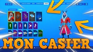 Here are the skins of my locker on fortnite season 10! (VoDkaRoz77)
