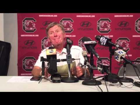 South Carolina head coach Steve Spurrier