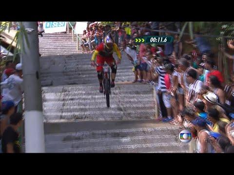 Full HD - Bicicross - Desafio Internacional Da Descida Das Escadas De Santos