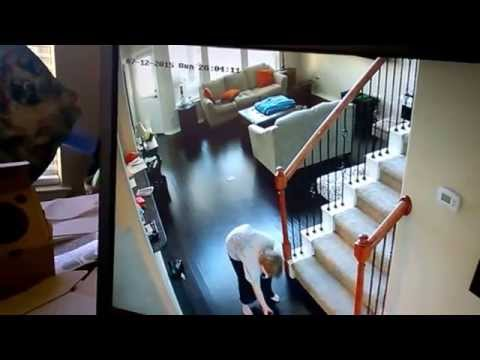 How to install an interior security camera youtube for Interior home security cameras
