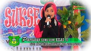 Arini Murid SDIT Jamiatul Muslimin Dumai dalam Lagu Zapin Wasiat