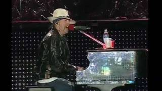 Guns N' Roses - November Rain - Pro Shot Line Feed - La Plata, ARGENTINA, October 8, 2011