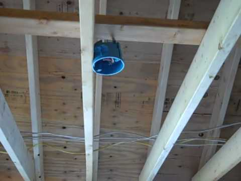 Residential Electrical Rough In (Part 2) - YouTube