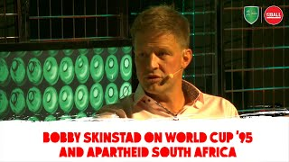 """""""It completely affected me"""" - Bobby Skinstad on apartheid & rugby"""