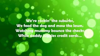 Over the Hedge - Rockin' the Suburbs - Lyric Video