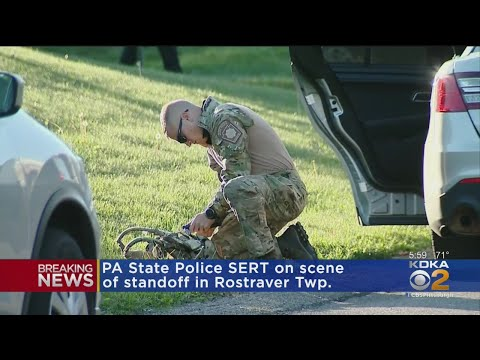 Pa. State Police SERT On Scene Of Rostraver Twp. Standoff