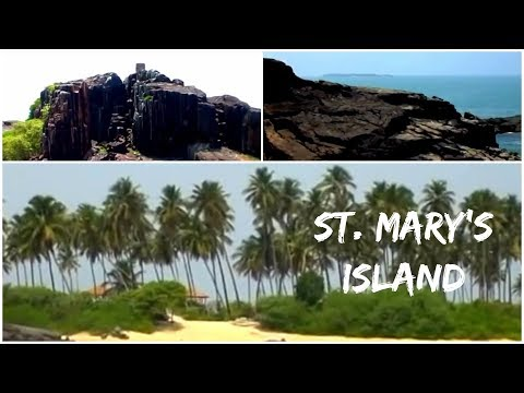 St. Mary�s island Beach at Malpe, Udupi