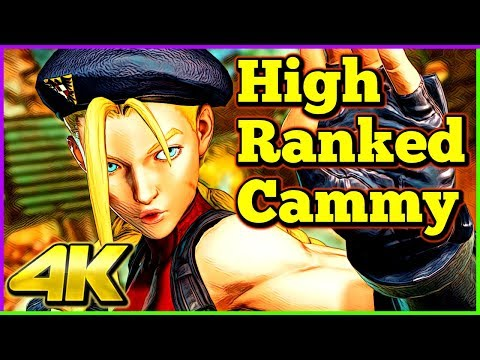 High Ranked Cammy  Compilation   Street Fighter 5 AE   4K Ultra HD - 60fps - PC