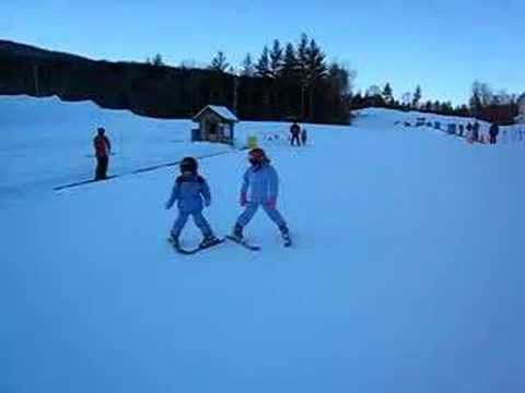 Charlotte Harrington Skiing at Okemo