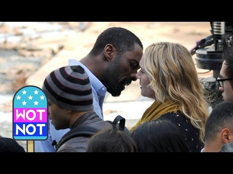 SPOILER: Kate Winslet, Idris Elba Kissing - Filming 'The Mountain Between Us' in Vancouver