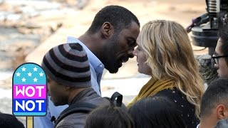 SPOILER: Kate Winslet, Idris Elba Kissing - Filming