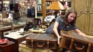 Louis Vuitton Vintage Suitcases, Bags In Our Antique Mall