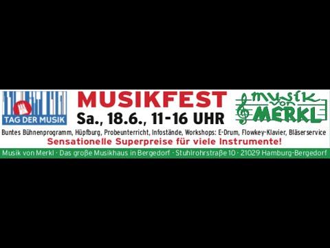 Musikfest 2016■ Musik von Merkl■ Hamburg■ Bergedorf